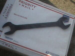 Snap on Sae 1 3 8 1 1 2 Industrial Open End Standard Wrench S4448b Nos