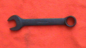 Snap on 19 Mm 12 point Flank Drive Industrial Short Combination Wrench Goexm19