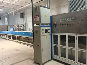 Paint Spray Booth Automatic Spray With Conveyors And Uv Curing