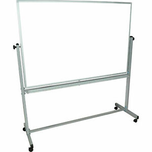 Luxor 174 60 w X 40 h Mobile Reversible Magnetic Whiteboard