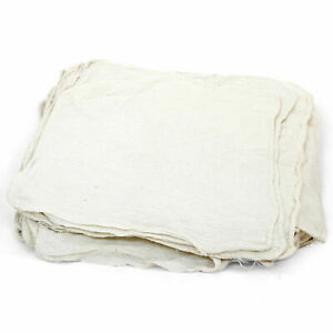 New 100 Cotton Pre washed Shop Towels Natural 25 Lbs