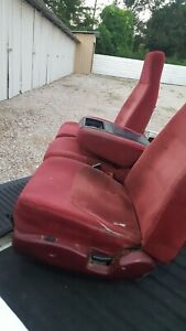 1992 1997 Ford F150 F250 F350 Frame Bucket Split Seat