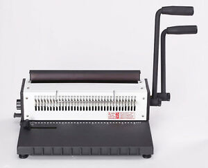 Wire o Binder 3 1 Heavy Duty Manual 2 Loop Wire Binding Machine Comb movable Pin