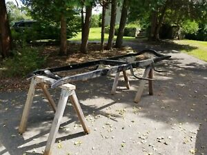 28 29 30 31 Ford Model A Frame straight Frame W Front Center Rear Crossmember
