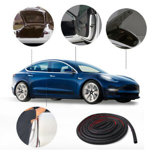 Mictuning For Tesla Model 3 Seal Strip Kit Rubber Door Wind Noise Reduction Kit