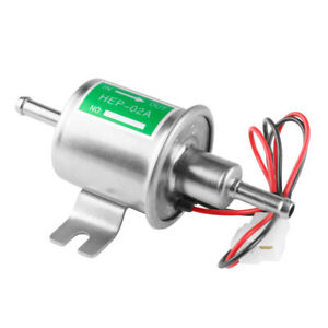 New Gas Diesel Electronic Fuel Pump Inline Low Pressure Electric Fuel12v Hep02a