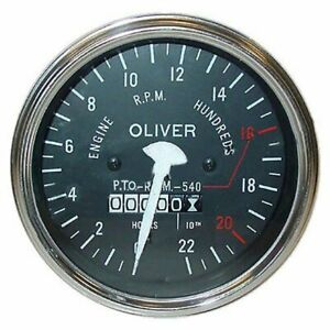 Oliver Tractor Tachometer For 55 Super gas diesel 66 Rc Super 77 Rc 550 Generic