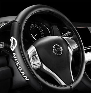 15 Car Steering Wheel Cover Genuine Leather For Nissan