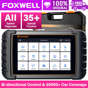 Foxwell Nt650 Elite Obd2 Diagnostic Scanner Srs Abs Bleeding Dpf Tpms Oil Reset