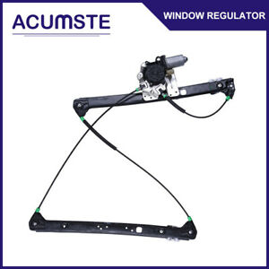 Front Right Passengers Side Power Window Regulator With Motor For 2000 06 Bmw X5