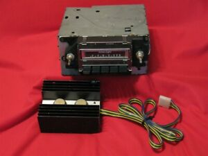 1974 Chevrolet Impala Am 8 Track Stereo Radio With Amplifier Working
