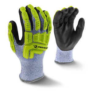 Radians Rwg604 Insulated Ansi A4 Cut Resistant Tpr Impact Gloves m 2xl