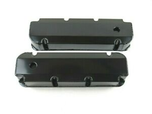 Bbf Ford 390 460 Fabricated Aluminum Valve Covers W Hole Black Ano Bpe 2341ba