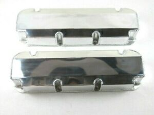 Bbf Ford 390 460 Fabricated Aluminum Valve Covers W O Hole Polished Bpe 2341p