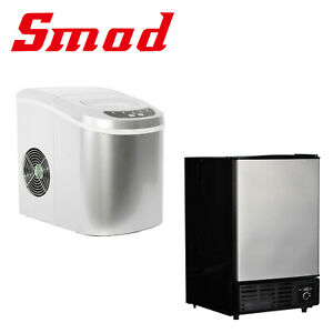 Smad Portable Ice Maker Machine Cube Countertop Undercounter Bar Home Party Dorm