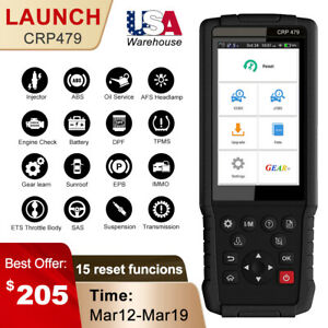 Launch X431 Crp479 Obd2 Multi systems Diagnostic Tool Scanner Abs Epb Dpf Tpms