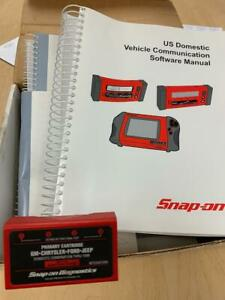 Snap on Mt25001099 Primary Cartridge Gm chrysler ford jeep Thru 1999 Obd ii