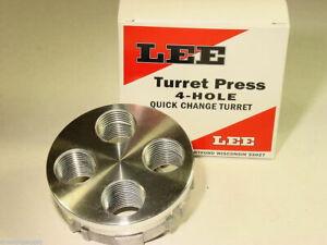 Lee 4 Hole Quick Change Turret for Turret Press 90269 FAST SAME DAY SHIP $23.99