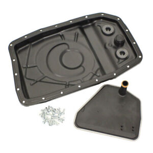 Aftermarket 183650 Transmission Pan Kit Includes Metal Oil Pan And Oil Pan