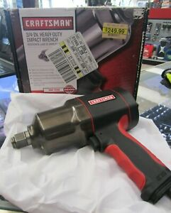 Craftsman 3 4in Heavy Duty Impact Wrench 875 199851