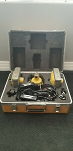 Topcon Gps Hyperlite Base And Rover With Case