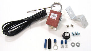 Adjustable Electric Cooling Fan Relay Control Kit 20 Amps 160 To 240 Degrees