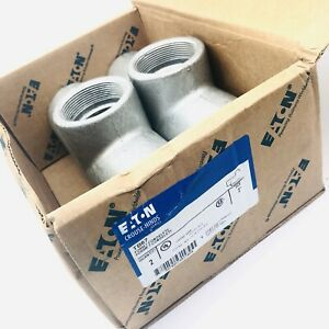 Crouse hinds Tb67 Conduit Outlet Bodies Form 7 Condulet Series 2 Box Of 2