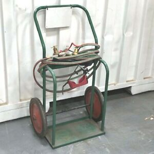 Welding Cart Tank Type With Victor Torches And Accessories Nice Condition