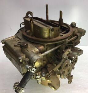 Vintage Nice Holley 600 Cfm 4 bbl Carburetor list 6919 mustang