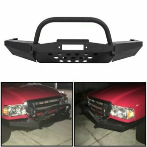 For Elite Ford Ranger Modular Front Winch Bumper With Bull Bar 1996 2011