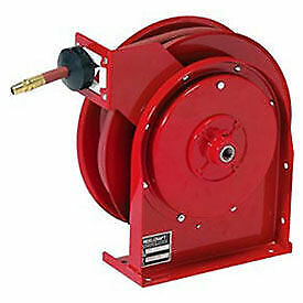 All Steel Compact Retractable Hose Reel For Air water 3 8 X 25 300psi Lot Of