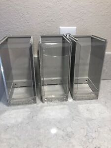 Candy Vending Machine Vendstar 3000 Replacement Canister Globes Set Of 3