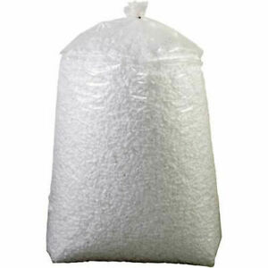 Loose Fill Packing Peanuts 20 Cu Ft White 20nutsw 20nutsw Lot Of 1