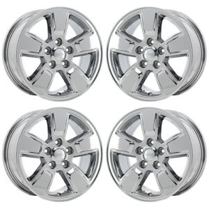 16 Jeep Liberty Pvd Chrome Wheels Rims Factory Oem Set 2008 2012 9084
