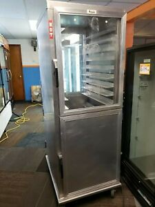 Used Lockwood Ca74 pfin 16 dd 8 Pan Pass thru Proofer Warming Cabinet