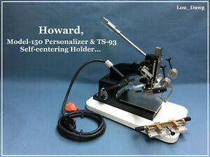 Howard Machine Model 150 Personalizer Hot Foil Stamping Machine