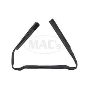 1964 1966 Ford Thunderbird Lower Back Panel Splash Shields To Rear Bumper With