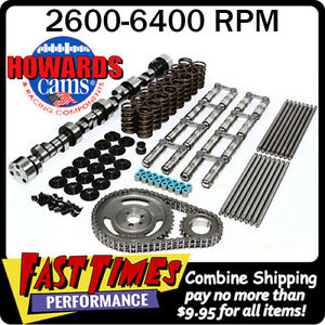 Howard s Bbc Chevy Retro fit Hyd Roller 288 294 618 618 110 Cam Camshaft Kit