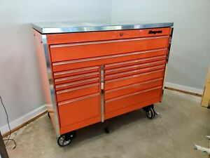 Snap On Tool Box Masters Series Krl1022 With Stainless Steel Top