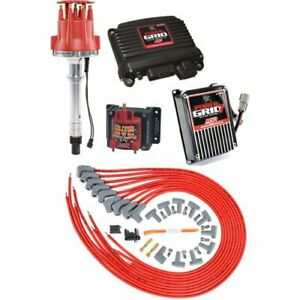 Msd Ignition 77303k1 Power Grid Ignition System Kit Small Block Chevy Big Block