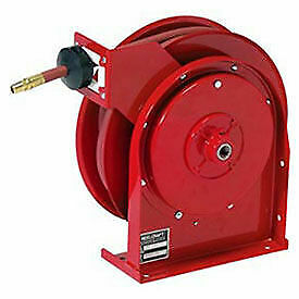 All Steel Compact Retractable Hose Reel For Air water 3 8 X 35 300psi
