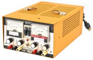 Systron Donner Dl40 1a Trygon 80w Dual Laboratory Dc Power Supply Unit