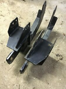 Fisher Minute Mount Snow Plow Push Plates Gm 7182