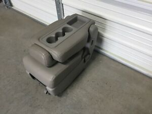 2011 2018 Honda Odyssey 2nd Row Leather Center Jump Seat Gray Plus One