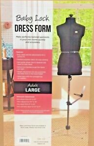 Baby Lock Dress Form Mannequin Large Size Sewing Clothing Designing New
