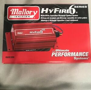 Mallory Hyfire 6 Series Ignition Box Part 6853m Ignition System New