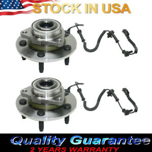Front Wheel Bearings And Hub 2006 2007 2008 Dodge Ram 1500 W Abs 2wd 4wd