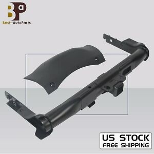 For 14 19 Dodge Durango Trailer Hitch Receiver With Cover Bezel Hardware New