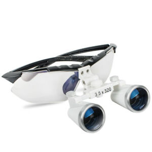 us 3 5x320mm Adjust Frame Dental Surgical Medical Binocular Loupes Glasses