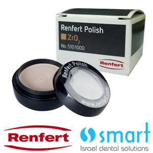 Dental Lab Renfert Polish Diamond Paste Zro2 Zirconia 10 Gr Zirconium Oxide